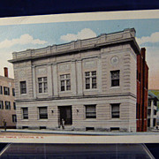 Masonic Temple Littleton NH Unused Post Card