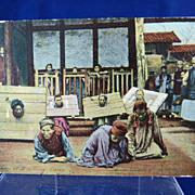 SOLD Post Card Prisoners at Kia - Ting China 1912