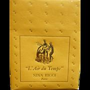 Vintage Nina Ricci L' Air Du Temps 1 oz. Ref. B831