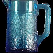 SOLD EAPG Blue Creamer
