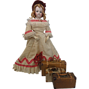 SOLD Lot of 3 Vintage Candy Container Doll Suitcases