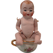 All Bisque Baby on Chamber Pot