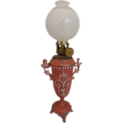 SOLD Gorgeous and Rare Oil Lamp for a Fashion Doll's Room