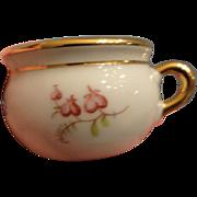 Limoges Porcelain Chamber Pot for Dollhouse, Mignonette