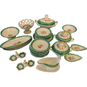 Incredible 27 Piece Old Paris Dinnerware Set for your Fashion Doll's Table