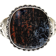 REDUCED Native American Petrified Wood Bracelet