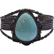Native American Sleeping Beauty Turquoise Bracelet