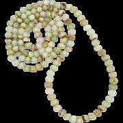 "Natural Sardonyx Agate Long Necklace 49"""