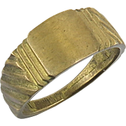 World War I French Trench Art Ring