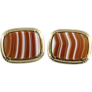 Scottish Agate Cufflinks