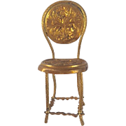 Beautiful Antique Ormolu Chair  ca. 20th century