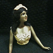 Bisque Porcelain, Polynesian Princess Half Doll