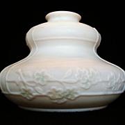 Satin Glass Lamp Shade c. 1930