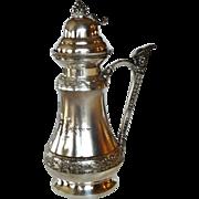Middletown Silver Co. Syrup Jug Circa 1880