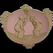 Schafer & Vater Jasperware Tray c. 1910-20