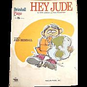 SOLD HEY JUDE by John Lennon and Paul McCartney Song Piano Sheet Music - John Brimhall Series