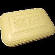 Fabulous Marshall White Chicago Grecian Designed Plaskon Silverware Flatware Chest