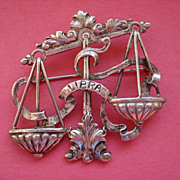 """Libra Sterling Pin by """"CINI"""""""