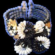 Miriam Haskell Bracelet WWII Era