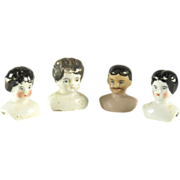 SOLD Small Dollhouse Size Doll Heads