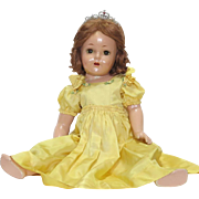 SOLD Madame Alexander 23 Inch Princess Elizabeth Doll