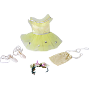 SOLD Ideal Pepper Budding Ballerina Outfit