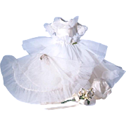 SOLD American Character Betsy McCall Bridal Gown