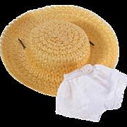 SOLD Nancy Ann Debbie Original Hat and Panties