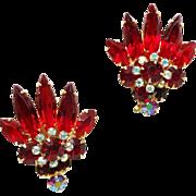 Confirmed Juliana Ruby Red Earrings