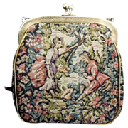 Romantic Tapestry Clutch purse