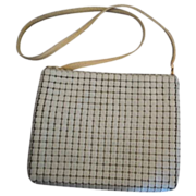 SALE Whiting and Davis Enamel Mesh purse