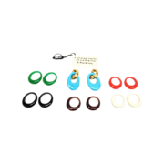 Crown Trifari Interchangeable earrings / finger rings