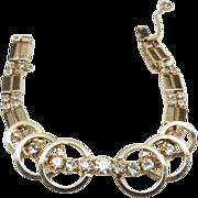 "Sarah Coventry ""Celestial Fire"" bracelet 1950's"