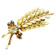 """Sarah Coventry """" Harvest Time"""" Brooch"""