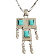 """Sarah Coventry """"Folklore"""" necklace 1971"""