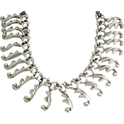 """Sarah Coventry """" Fancy Free"""" necklace"""