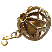 "JAPAN ""Ball with Rattle"" charm"