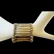 Ethiopian silver stretch bracelet