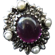 "SALE Sarah Coventry  ""Catherine"" ring"