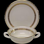 Lenox Imperial, P-338 Cream Soup & Saucer set
