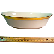 "Lenox Aristocrat 10 1/4"" Oval Vegetable"