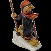 Goebel Hummel, Skier Boy #59, Wood Poles, Trademark 3