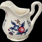 Wedgwood Williamsburg Potpourri Queensware Creamer