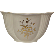 Lenox Large Fan Shaped Vase Gold and Turquoise Beading
