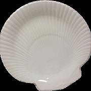 Wedgwood Moonstone Cream Shell Shaped Plate