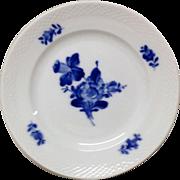 Royal Copenhage Blue Flowers-Braided Pattern Salad Plate 8095