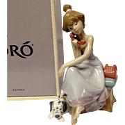 "SOLD Boxed Lladro ""Chit Chat"" #05466"