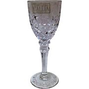 Rogaska Gallia Crystal Cordial