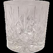 Edinburgh Scottish Crystal Lomond Pattern Old Fashion Tumbler