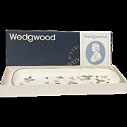 Boxed Wedgwood Wild Strawberry Mint Tray, Harrods